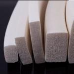 Best self-adhesive sponge rubber strip door seal / easy and simple to handle foam strip wholesale