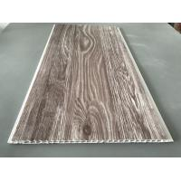 Cheap Recyclable Brown PVC Wood Panels Easy Maintenance 2.5kg/Sqm - 3kg/Sqm for sale