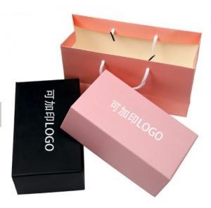 China Custom size / design paper drawer shape box , essence / nail polish bottle set package on sale