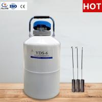 Best TIANCHI Liquid Nitrogen Tank 6L Aviation Aluminum Container Price wholesale