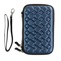 Best Polyester Zippered Storage Containers , Elastic Mesh Pocket Hard Disk Case wholesale