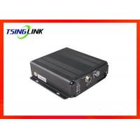 Best 4G 4CH AHD Vehicle Mobile DVR Supports Two Way Video Talkback With Micro SD Card wholesale