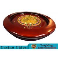 Best Deluxe Solid Wooden Roulette Wheel Board For Casino Solid And Durable wholesale