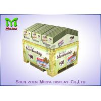 Cheap Suppermarket Retail Pallet Displays / Promotion Corrugated Paper Pallets Easy for sale