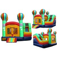 Best car inflatable combo for jumping castle with slide wholesale