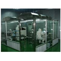 Cheap ISO Semiconductor Air Shower Clean Room Class 100 - 10000 With Fan Filter Unit for sale