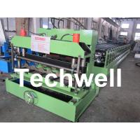 Cheap Steel Tile Roll Forming Machine / Cold Roll Forming Machine for Color Steel Tile for sale