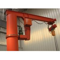 China 1-10 Ton Column Mounted Jib Crane With Electric Hoist Remote Controller on sale