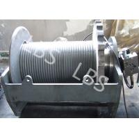 Best Two Speed Hydraulic Crane Winch Electrical Mooring Winch Long Life wholesale
