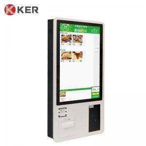 Best Printer QR Barcode Scanner 32 Inch Self Service Ordering Kiosk wholesale