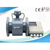 Quality CE ISO Electromagnetic Water Meter For Flow Level Measurement , 0.2 - 0.5 % Accuracy wholesale