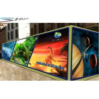 Best Mobile 6D Movie Theater Simulator With Audio /Broadcast System And Polarized Glasses wholesale