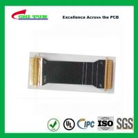 Best Sillkscreen Flexible PCB Fabrication , Mobile Phone PCB Board Black Solder Mask wholesale
