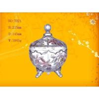 Best Mini Round Candy Glass Bowl Bottle ,  2 Foot wholesale
