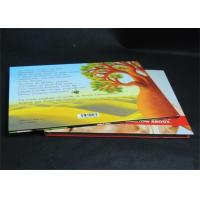 Best Full Color Glossy Paper Hardcover Book Printing Services , Offset Book Printing wholesale