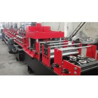 Best Dual Holes Punching C Purlin Roll Forming Machine Hydraulic 14 MPa Work Pressure wholesale