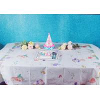 Best Unicorn Party Biodegradable Disposable Paper Tablecloth For Children Birthday Decoration wholesale