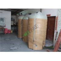 China Manual FRP Tank For Filter Housing Or RO Water Storage Tank With Valve on sale