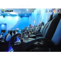 Cheap 9 Seats 5D Cinema System Equipment Motion Chair With Many Special Effects for sale