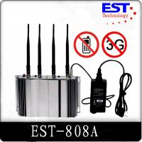 Best 3G Cell Phone Signal Jammer Blocker EST-808A , 2100 - 2200MHZ Frequency wholesale