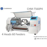 Advanced 4 Heads 60 Feeders CHMT560P4 SMT Pick and Place Machine + Yamaha pneumatic Feeders, Bathch production