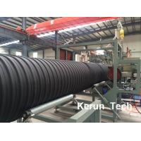 Cheap Large Diameter Steel Reinforced PE Winding HDPE Pipe Extrusion Machine 800 kgs / h for sale