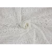 Best Textile Milk Fiber Water Soluble Guipure Lace Fabric By The Yard Stretch Soft Feel wholesale