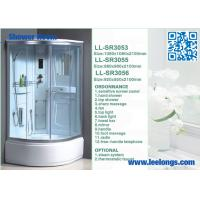 Best Sensitive Panel Steam Shower Room Cabins , Steam Shower Cubicles wholesale