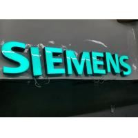 Buy cheap SIEMENS Epoxy Resin Lighted Channel Letters for Store Cabinet Advertising from wholesalers