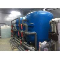 Best 50M3/H Water Treatment System / Pure Water Filter 50T/H With Blue Fiberglass For Drinking wholesale