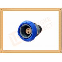 Best Push Pull 2 Pin Circular Connector Self Locking / Double Reed Locked wholesale