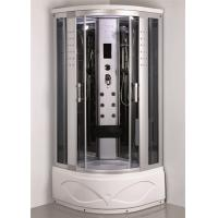 Cheap Comtemporary Steam Room Shower Combo With Whirlpool Tub ABS Tray Material for sale