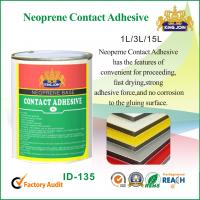 Best Water Based Neoprene Contact Adhesive Glue For Bonding Plywood , Wooden Furniture wholesale