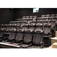 Best Cost-effective 4D Cinema With Customized Ultra Durable Electric 4D Motion Seats wholesale