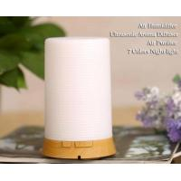China Essential Oil Diffuser 100ml Cool Mist Aroma Humidifier With 7Color LED Light on sale
