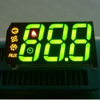 Best 0.67 inch 3 Digit Seven Segment Display Common Anode Green Yellow Red wholesale