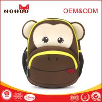 Best 0.29KG Smart Monkey Children School Backpack 3D Cartoon Shockproof Colorful wholesale