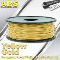Best Soft Colorful 1.75mm /  3.0mm 3D Printing ABS Filament  Material For 3D Printers wholesale