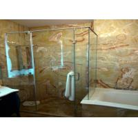 Best Red Dragon Onyx Natural Stone Bathroom Tiles , 12x12 Stone Tile Skid Resistant wholesale