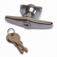 Buy cheap Zinc Alloy Locking T Handle with Cam, for Large Gates or Doors from wholesalers