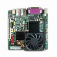 Buy cheap Mini-itx Motherboard with Onboard Socket 604 Xeon Dual-Core CPU, Supports VGA, from wholesalers
