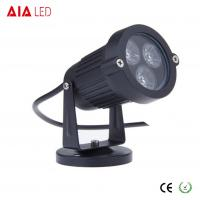 Best IP40 round black 45 degree lens outdoor 3W LED garden lights for hotel wholesale