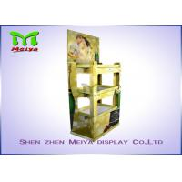 Cheap Eye-catching Corrugated Paper Wine Racks Customized Cardboard Display Stand for for sale