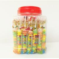 Best Multi Fruit Flavor Baby Compressed Candy Brochette In Plastic Jars Taste Sweet And Sour wholesale