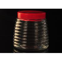 Buy cheap Ribbon Cone Glass Tableware Empty Honey Bottles Personalized Recyclable from wholesalers