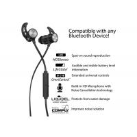 Cheap 3w 60mah Wireless Bluetooth Sport Headphones With Stereo Sound / Bass for sale