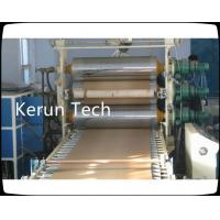 Best 280 kw PE PP Plastic Plate Extrusion Line With Auto feeder / Three roller calender wholesale