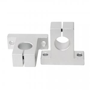 Best Steel Vertical Support Seat 3D Printer Bearings Optical Axis Sk8 Seat Sk20-22 Sk60 wholesale