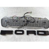Best Car Front Bumper Grille With LED Lights For Ford Ranger 2016 2017 Body Parts wholesale