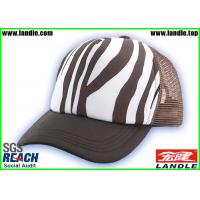 Best Hip Pop Stripe Customized Baseball Caps With Polyester Fabric wholesale